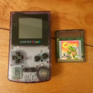Purple Game Boy Colour /w 1 game