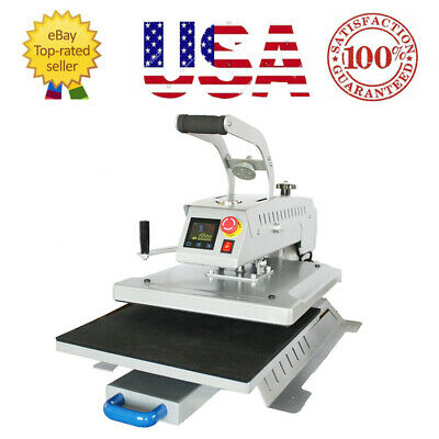 16x20 T-shirt Heat Press Machine Swing Away Digital Magnetic Semi-autogift