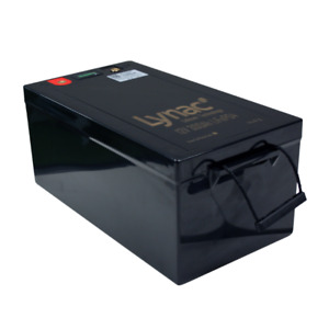12V 315Ah LiFePO4 Smart Lithium Deep Cycle Battery with LCD