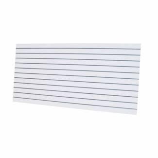 Quality SlatWall Panels 2400x1200x18  White/Black/Maple/Silver
