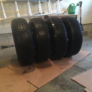 225 65R 16 Set of Winter Tires AND Rims