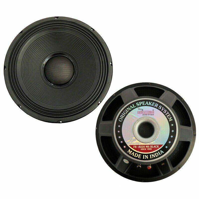 "5Core 18"" PRO AUDIO Replacement DJ SubWoofer SUB Loud Speaker 107 OZ Magnet 8 Ω"