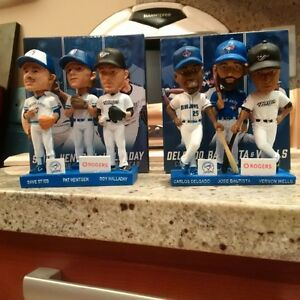 MLB Blue Jays Baseball Bobblehead Escobar Bautista Smoak