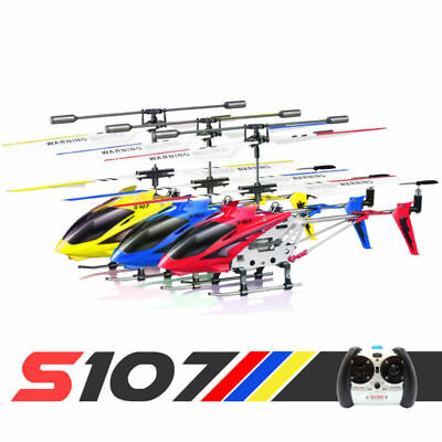 Syma S107G 3.5CH RC Helicopter Phantom Metal Mini Remote Control Helicopter GYRO ()