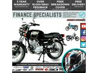 AJS Tempest Roadster EFI 125 Cafe RacerRetro 125cc FINANCE DELIVERY AVAILABLE