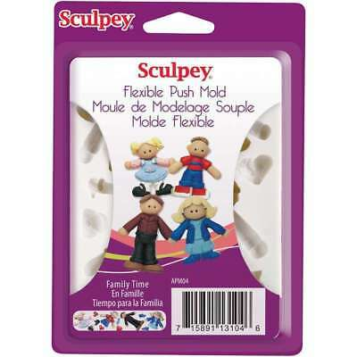 Sculpey Push Mold - for fimo sculpey polymer clay - BEST VALUE EUROPE - premo   (Best Paint For Clay)