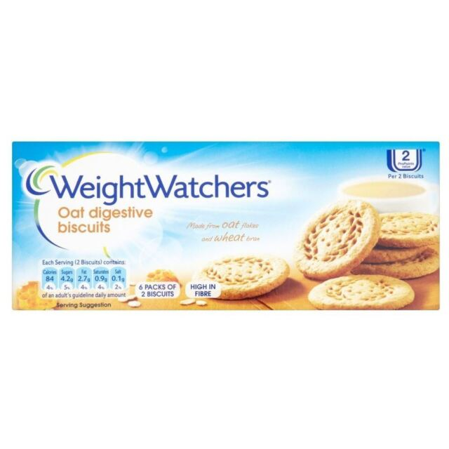 Weight Watchers Oat Digestive Biscuits (114g)