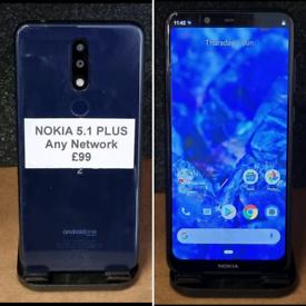 Nokia 5.1 PLUS - £99 - ANY NETWORK