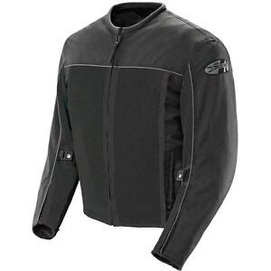 Joe Rocket Velocity Mesh Street Sport Bike Motorcycle Jacket XL Black