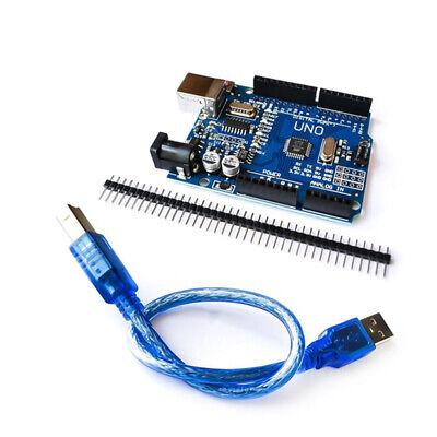 Arduino Uno R3 Compatible Smd Board Atmega328 Ch340 Chip Usb Cable Us Seller