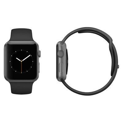 Apple Watch Sport - 42mm - Space Gray Aluminium Case  Black Sport Band