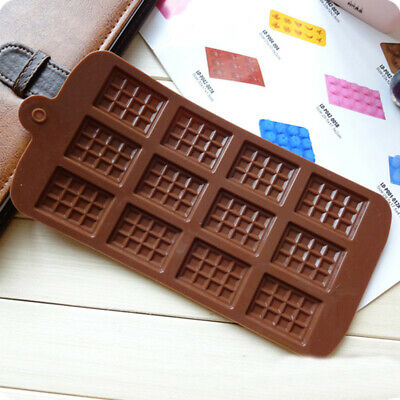 Hot Chocolate Kit (Hot Silicone Mini Chocolate Block Bar Mould Mold Ice Tray Cake Decorating)