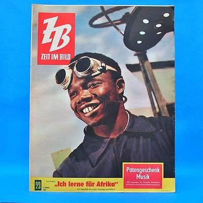 DDR Zeit im Bild ZiB NBI 23/1960 Neubrandenburg Chruschtschow Japan Ziolkowski