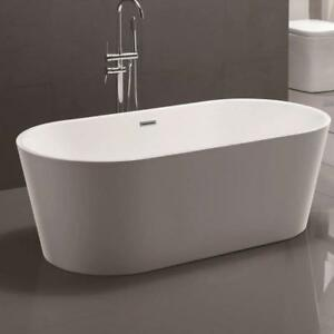 Vanity Art Freestanding Soaking Bathtub (1 Only)