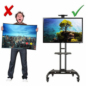 North Bayou Universal Mobile TV Cart TV Stand with Mount AVA1500