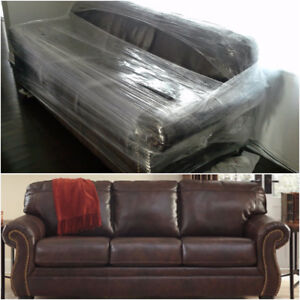 Ottawa Absolutely New Top Grain Leather Sofa Love Seat Chair