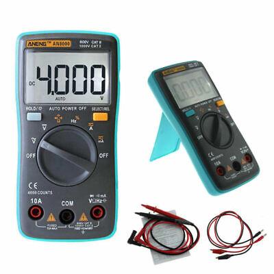 Polimetro Tester Multimetro Digital Voltimetro Amperimetro OHM Voltios AN8000