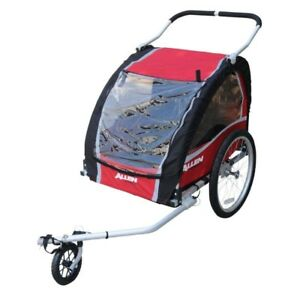 Like new Allen AST200 Aluminum Bicycle Trailer and Stroller