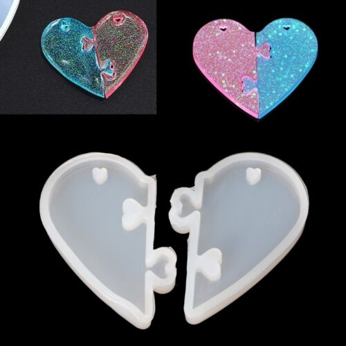 Love locks for lovers Pendant Silicone Mold DIY Epoxy Resin