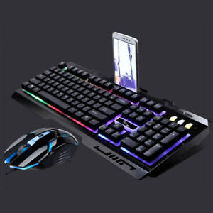 Back light Wired Game Mechanical Keyboard Mouse Brand New In Box