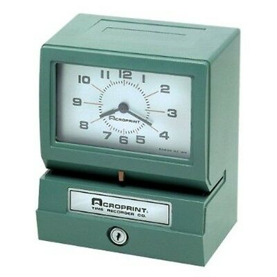 Acroprint Electric Print Heavy-duty Standard Time Recorder-150er3 01-2070-40a