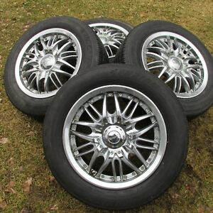 "15"" Chrome rims   - -      4x100& 4x114.3"