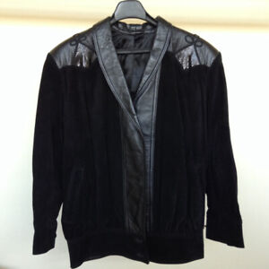 Dominic Bellissimo Leather, Suede Jacket – Size Small – Perfect