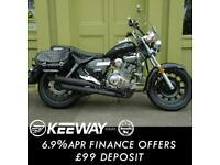 Keeway Superlight 125cc SE Custom Chopper Cruiser Motorcycle Learner Legal A1
