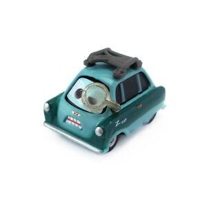 Mattel Disney Pixar Cars 2 Professor Z With Glass Diecast Toy Car 1:55 Loose New