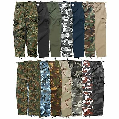 Mil Tec Mens Us Bdu Trousers Combat Cargo Tough Army Work Uniform