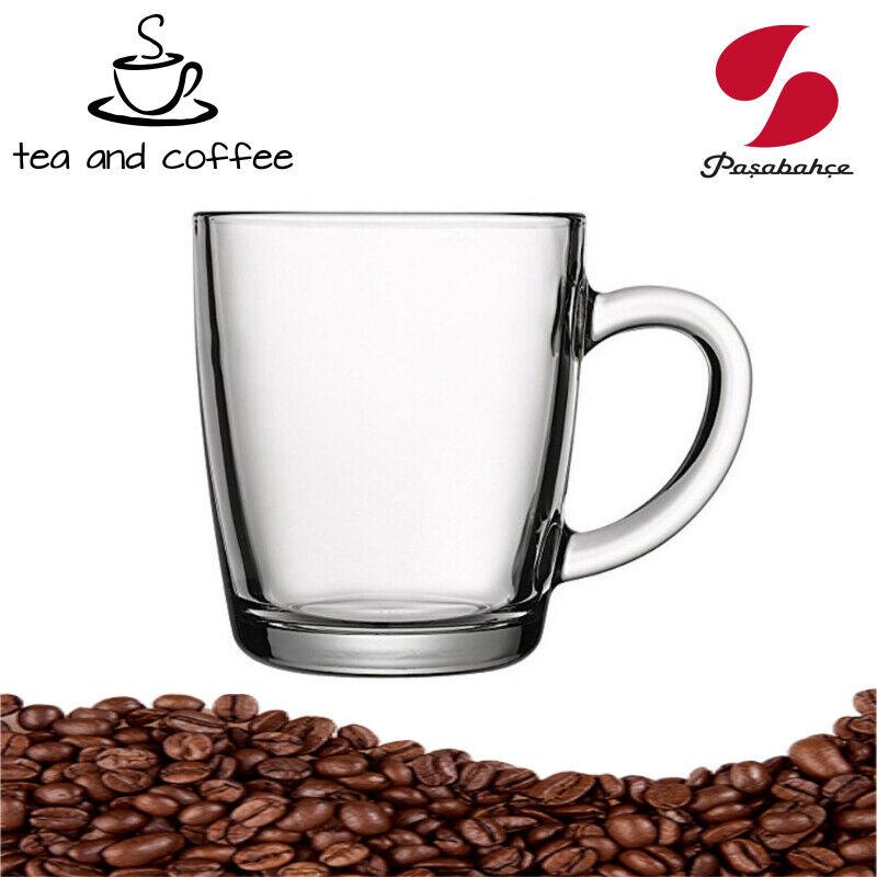 6 x Teeglas,Kaffee Latte Macchiato Cappuccino Tassen,Pasabahce Basic Gläser Set