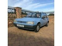 1987 D Peugeot 309 GE 1.3 Petrol, 5door, 53,000 miles from new, 2 previous owner
