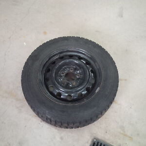 Winter Force Tires and Volkswagon Jetta Rims 195/65R15