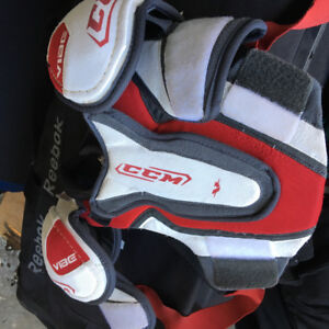 Hockey and goalie gear