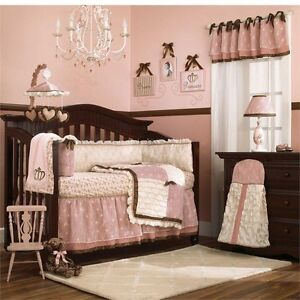 Crib bedding set girl