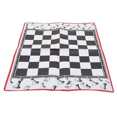Chess Giant Game Set Includes Big Pieces And Chess Board Mat Indoor Outdoor LT