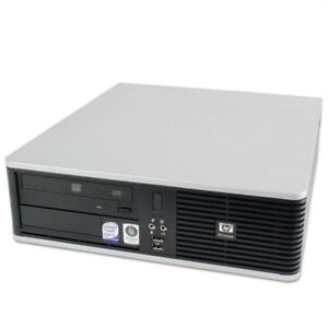 HP COMPAQ DC7800 desktop, 250GB 4GB, CORE 2 DUO E6750 2.66GHZ,