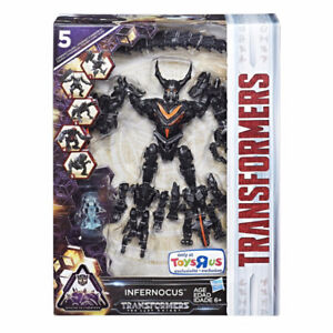 Transformers Infernocus 5 robots  Mission to Cybertron
