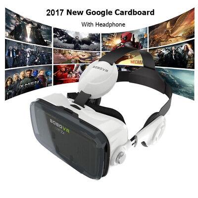 Bobo Vr Box Z4 Virtual Reality Headset 3D Movie Cardboard Game Glasses Headphone