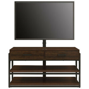Clearance Whalen 3-in-1 TV Stand for TVs up to 60 - Dark Brown/