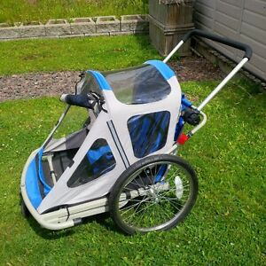 double bike trailer/stroller