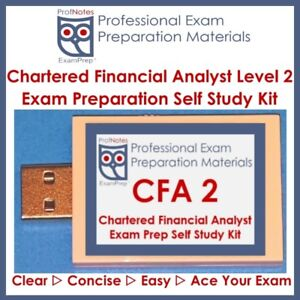 [CFA 2018] L2 (Kaplan Schweser) Textbooks Study Kit