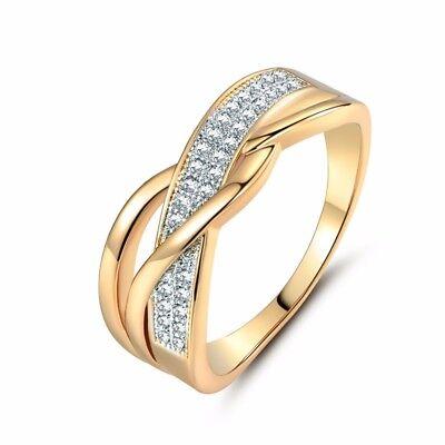 Anillos Sortijas De Mujer Compromiso Matrimonio Boda Oro Plata Anel De Prata 925