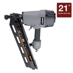 NuMax 21-Degree Framing Nailer For Framing, Roof Decking, Wood F
