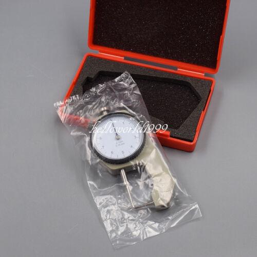 Dental Thickness Gauge Dial Caliper Instruments Measuring Meter w/Lock 0-10mm
