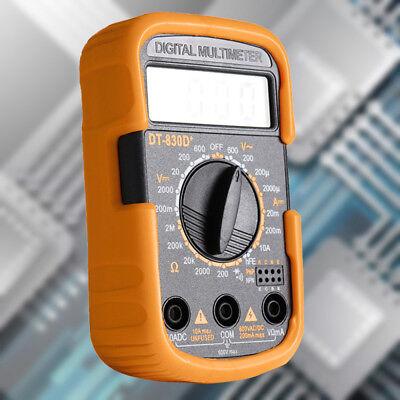 Dt830d And Yellow Black Mini Portable Digital Small Multimeter Multimeter