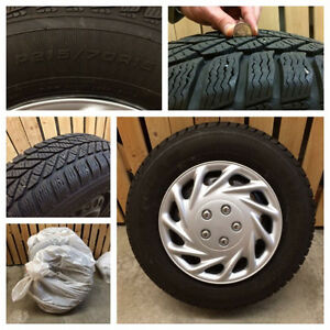 4 Winter Tires/Rims and Covers