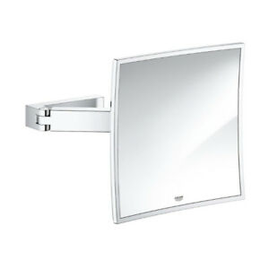 Grohe 40808000 Selection Cube Shaving Mirror Chrome