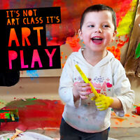 Messy Art & Sensory Play for kids