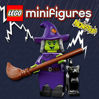 LEGO Minifigures #71010 - Halloween / Monsters - Wacky Witch / Sorcière - Sealed